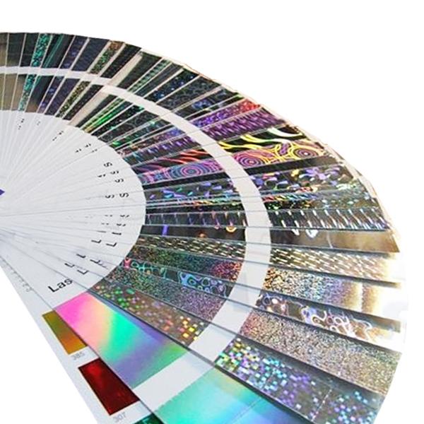 Light Line Design® XL дифракционная (голографическая) фольга