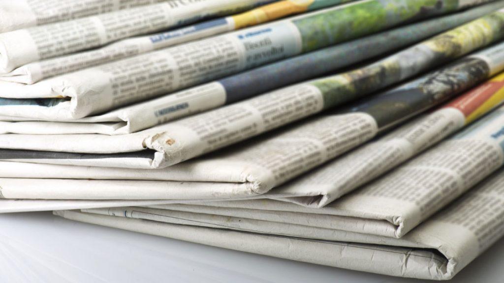 Бумага газетная Mondi
